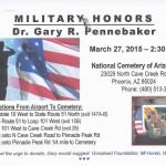 Penebaker_military honors
